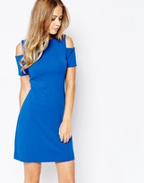 Whistles Exclusive Off Shoulder Mini Dress