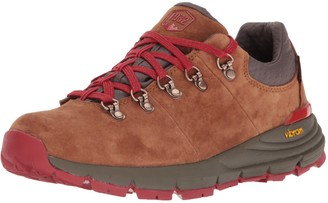 """Danner Women's Mountain 600 Low 3"""" Brown/Red Hiking Boot 11 M US"""