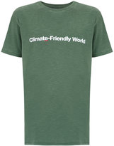 OSKLEN 'Climate-Friendly World' print T-shirt