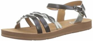 The Divine Factory Women's Jasmine Open Toe Sandals