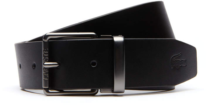 ca91f2c3 Men's Two Leather And Woven Belt Straps And Two Buckles Travel Kit
