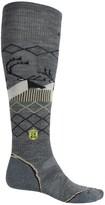 Smartwool Charley Harper Bathburst Inlet Ski Socks - Merino Wool, Over the Calf (For Men and Women)
