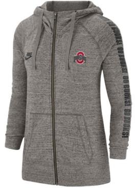 Nike Ohio State Buckeyes Women's Gym Vintage Full Zip Hoodie