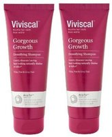 Viviscal Shampoo promotes gorgeous hair includes clinically tested ingredients from natural sources, pea sprouts, grape seeds, with Biotin, Keratin and Zinc. (Pack of 2)