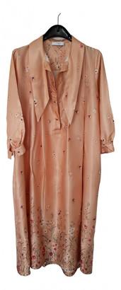 Roseanna Pink Viscose Dresses