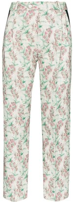 Charles Jeffrey Loverboy Floral-Print Tailored Trousers