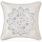 "Waterford Veranda Embroidered 18"" Square Decorative Pillow"