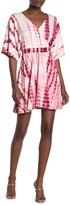 Velvet Torch Tie-Dye Elbow Sleeve Fit & Flare Dress