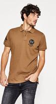 Esprit Embellished piqué polo shirt, 100% cotton