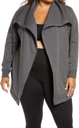 Zella Amazing Cozy Wrap Jacket