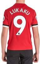 adidas Manchester United Lukaku #9 2017/18 Home Shirt Jnr