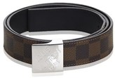Louis Vuitton Pre-owned: Damier Ebene Belt.