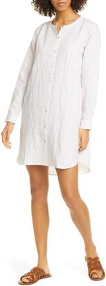 Eileen Fisher Crew Neck Shirt Dress
