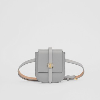 Burberry Belted Grainy Leather Anne Clutch