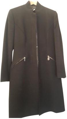 John Richmond Black Wool Coat for Women