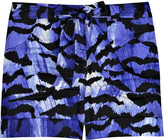 Alice by Temperley Tiger cotton shorts