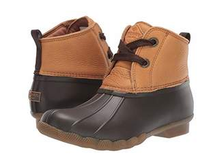 Sperry Saltwater 2-Eye Leather (Tan/Brown) Women's Rain Boots