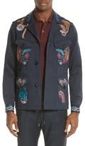 Paul Smith Men's Paisley Field Jacket