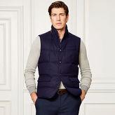 Ralph Lauren Purple Label Quilted Wool Down Vest