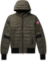 Canada Goose Cabri Quilted Shell Hooded Down Jacket
