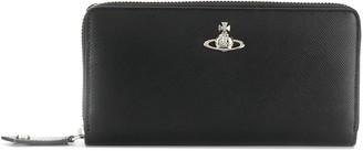 Vivienne Westwood orb logo plaque purse