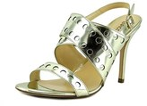 Enrico Lugani Sk162lan Open Toe Patent Leather Sandals.