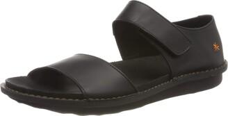 Art Women's 1309 Grass Black/I Explore Open Toe Sandals 3 UK