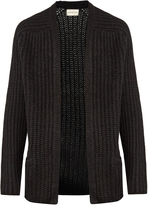 Simon Miller Carrizo alpaca-blend ribbed-knit cardigan
