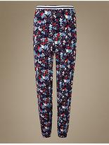 M&S Collection Floral Print Long Pant Pyjama Bottoms