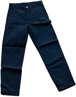 Carhartt Wip Black Cotton Trousers for Women
