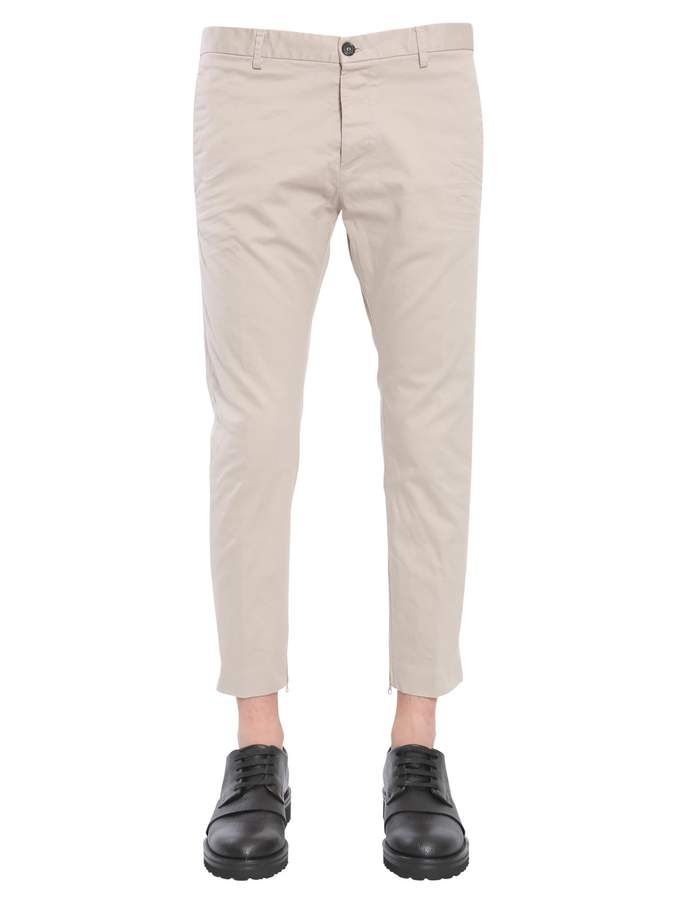 DSQUARED2 Cotton Twill Trousers