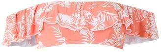 Track & Field Gipsy printed bikini top