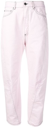 Palm Angels Curved Seam Jeans