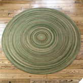 Colonial Mills Greenbrier Reversible Braided Wool Round Rug