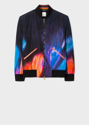 Paul Smith Men's 'Rave' Print Bomber Jacket