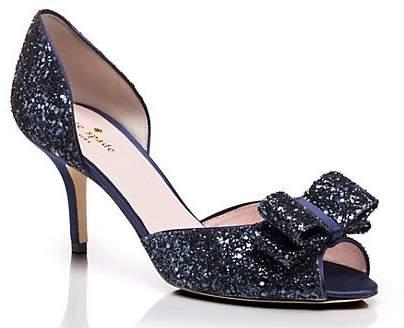 59904ce031 Navy Glitter Heels - ShopStyle