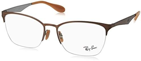 Ray-Ban Women's 6345 Optical Frames, brown, 52