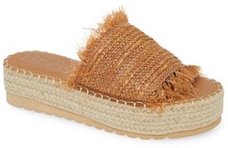 Coconuts by Matisse BEACH BY MATISSE Seashell Platform Slide Sandal