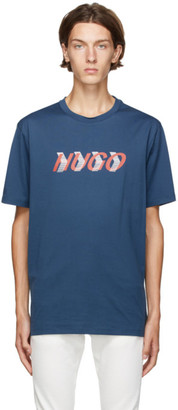 HUGO BOSS Blue Liam Payne Edition Dicagolino T-Shirt