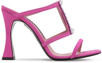 Les Petits Joueurs 100mm Hoya Embellished Grosgrain Sandals