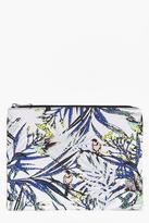 Boohoo Botanical Floral Make Up Bag