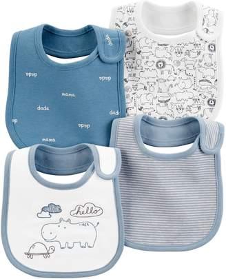 Carter's Baby 4 Pack Animal Bibs