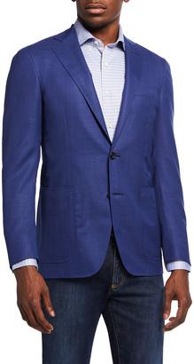 Canali Men's 130s Wool Solid Blazer
