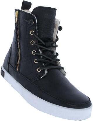 Blackstone 'CW96' Genuine Shearling Lined Sneaker Boot