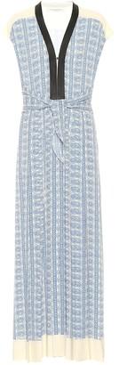 Philosophy di Lorenzo Serafini Paisley crApe maxi dress