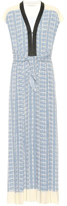 Philosophy di Lorenzo Serafini Paisley crepe maxi dress