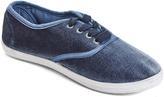 Charles Albert Blue Velvet Riley Sneaker