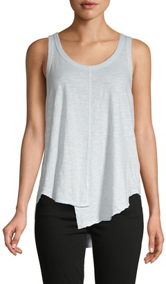 Wilt Shifted Shirttail Tank Top