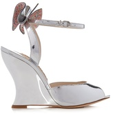 Sophia Webster Rizzo embellished-bow wedge sandals