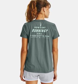 Under Armour Women's UA How's My Running Short Sleeve